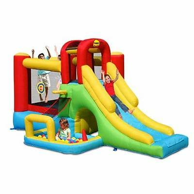 ORIGINAL HAPPY HOP Adventure Jumping Castle with Ball pit 9160