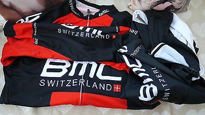BMC Long sleeve jersey with Bib leggings cycling outfit
