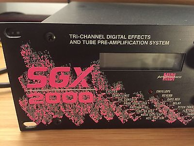 Art SGX 2000 Vintage Valve Preamp And Multi Effects With Pedalboard