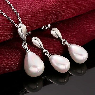 birthday/XMAS Gift silver Jewellery sterling 925 Silver necklace pendant earring