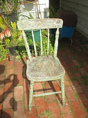 Antique Australian Kangaroo Spindle Back Chair circa 1910