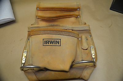 Irwin Nail Bag, Leather