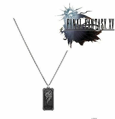 Final Fantasy XV Official Necklace Silver 925 King of Lucis SQUARE Pre-Sale