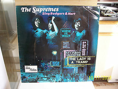 The Supremes:     Sing Rodgers And Hart    Tml 11054     Con Ex