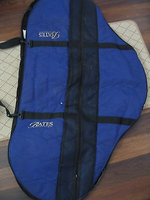 Bates Saddle Bag Cover Carrier Purple Zip Fur Lined Very Good Condition Protect