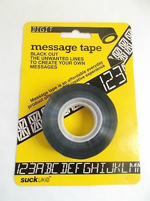 Suck UK Message Tape. Buy 2 get a 3rd Free