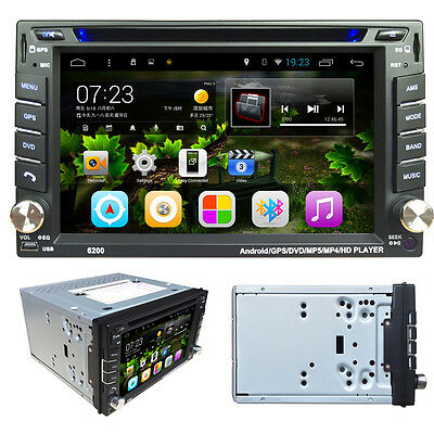Android 4.4 6.2 2Din InDash Car DVD Radio Stereo Player BT 3G GPS+CAMERA Nice SE