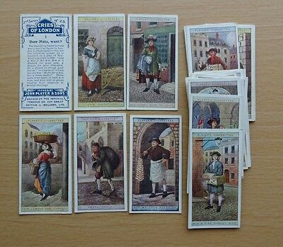 Players - Cries of London  -   1916  Set   ( Second Series )