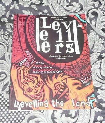 The Levellers Levelling The Land Songbook Piano Vocal Guitar FREE POSTAGE