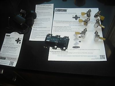 Gibson 2015 G-Force Electronic tuning machine head outfit. With charger etc New