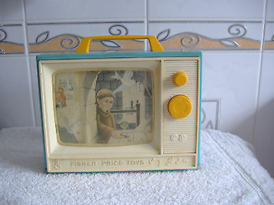 Vintage Fisher Price Television Music Box