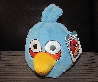 8 Inch Blue Angry Bird Plush Toy With Tag 20cm