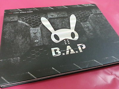 BAP B.A.P [ WARRIOR ] 1st Single Album CD with Booklet, Very Good Condition Used