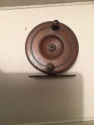 Wooden fishing reel X 2