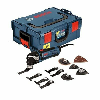 New Bosch GOP 40-30 Corded Starlock Multitool With Accessories L-Boxx 240v (5315