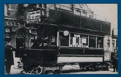 Black Country Museum Postcard - Handsworth 1888 Falcon Open-Top Cable Tram Car