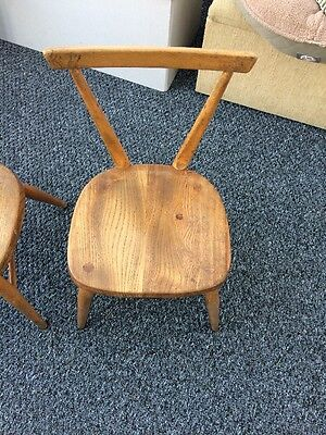 vintage school chairs