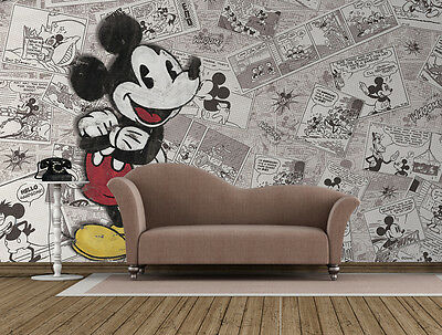 Wall Mural photo WALLPAPER for children's bedroom - Mickey Mouse Disney Comics