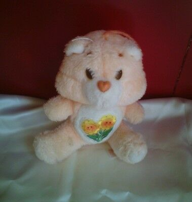 Doudou,Peluche Bisounours Care bears KENNER  AMERICAN GREETING 1983