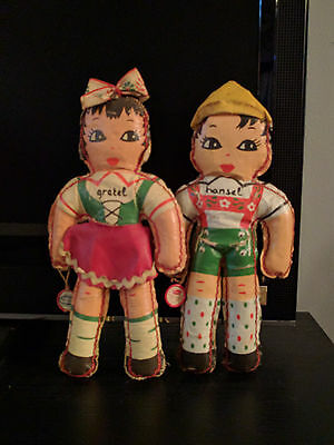 "10"" Leather Hansel & Gretel doll designed by Evan for Atlanta Novelty MFG."