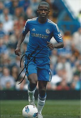 RAMIRES - Hand Signed 12x8 Photo - Chelsea Benfica Brazil - Football