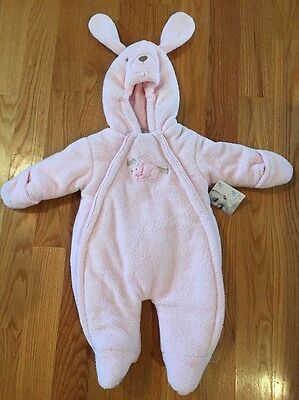 Pink Bunny Bunting Outfit from Kohls Brand New with tag 3-6 Months Baby Girl