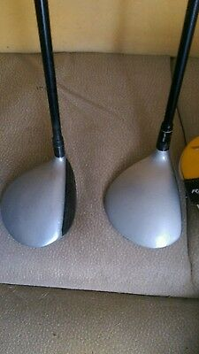 taylormade rbz stage 2 3 _and 5 wood£49 reg/graphite r/ handed