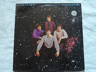 """PINK FLOYD THERE'S SOMEBODY OUT THERE 12"""" 1989 clear vinyl BAK6003"""