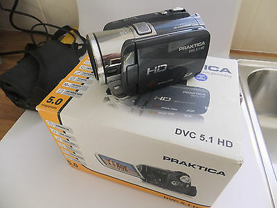 Praktica 5.1 HD video camera