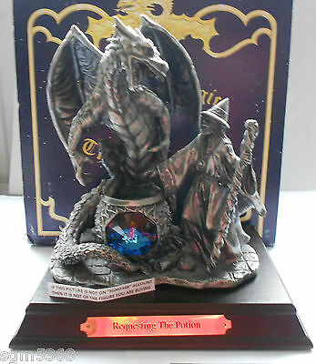 Rare Boxed Myth And Magic - Requesting The Potion By Tudor Mint
