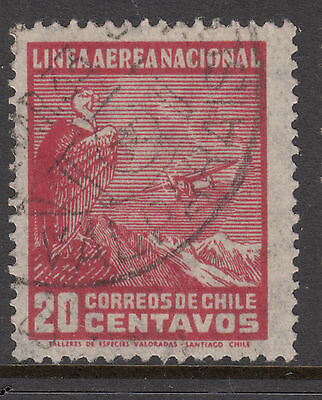 CHILE 1931 20c AIR Very Fine Used