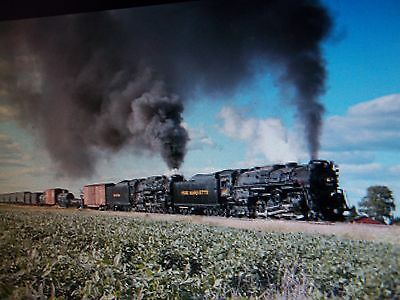 1225, 765 Pere Marquette, Nickel Plate Rr  Steam Engines Double Headed Dvd