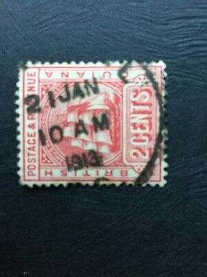 Stamps British Guiana 2 cents Used Hinged