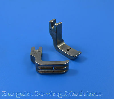 """Industrial Sewing Machine Double Welt Piping Foot 1/8"""" Brother Juki Singer"""