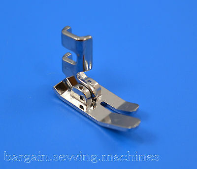 Domestic Sewing Machine 12mm wide Straight Stitch Low Shank Hinged Presser Foot