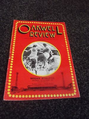 Oakwell Review Programme (Rare) 21/10/1978