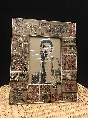Hand Painted Picture Frame 6x4