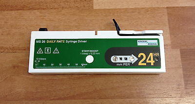 Graseby MS26 Daily Rate Syringe Driver / Pump