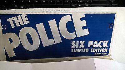 "7""  The Police - Six Pack - Limited Edition - 6 Blue Vinyl - Photo + Lyric Cards"