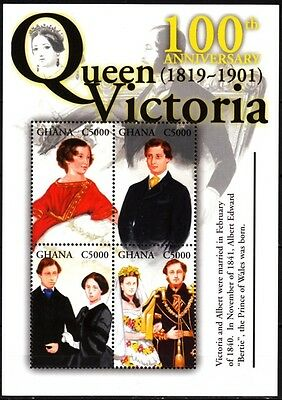GHANA 2001 Famous People / Royalty: Queen Victoria, MNH