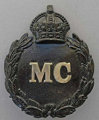 Monmouthshire Police Helmet Plate Badge. Wm