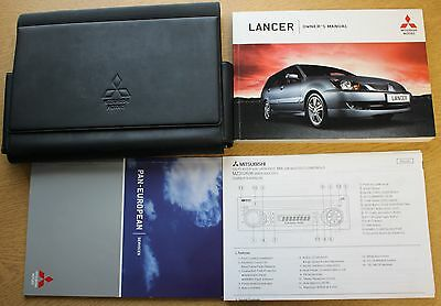 Mitsubishi Lancer Handbook Owners Manual 2003-2007 Wallet Pack 10458