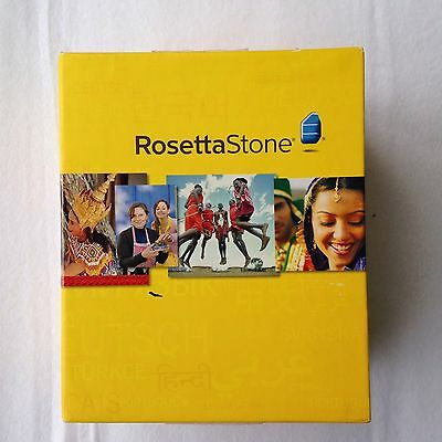 Rosetta Stone V4 TOTALe: German Level 1-5 Set for PC, Mac - Software + Audio