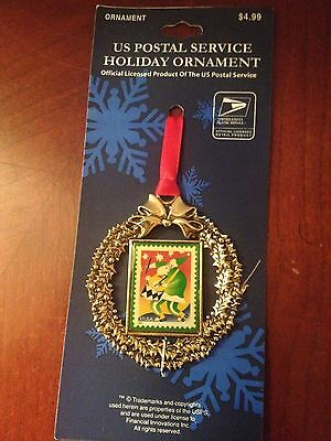 Usps United States Postal Service Christmas Holiday Ornament Drummer Stamp Nos