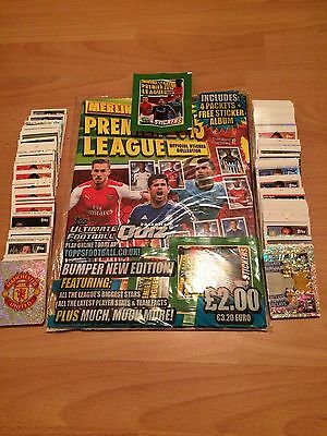 Complete Set Of 542 Topps Premier League 2015 Sticker Collection Excellent Cond
