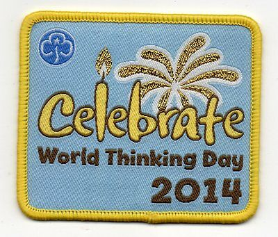 Girl Guides 2014 World Thinking Day Badge