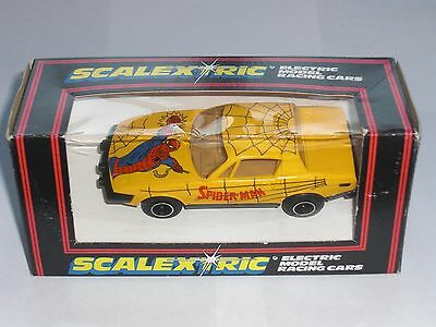 Scalextric C321 Type 1 Triumph Tr7  Spiderman - Excellent, Boxed