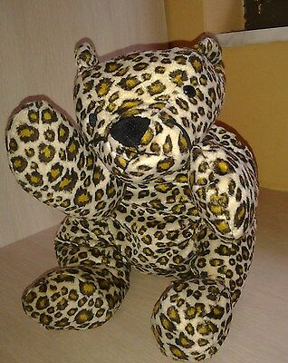 Ty Pillow Pals 1996 Leopard Speckles 16""