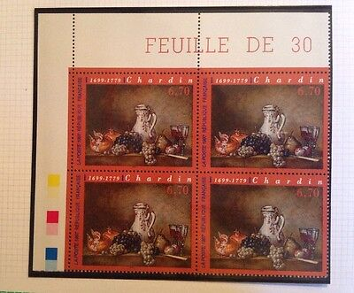 Timbres TABLEAU CHARDIN 1997
