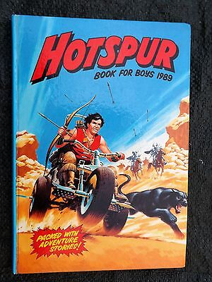 Hotspur Book for Boys Annual 1989 unclipped